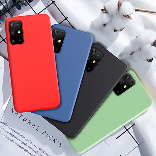 Soft Liquid Silicone Case For Samsung Galaxy S20 / S20Plus / S20Ultra / A71 / A51/ A70 / A60 / A50 / A40 / A30 / A20 / A10 / A50S / A30S / Note 10 / Note 10 Plus