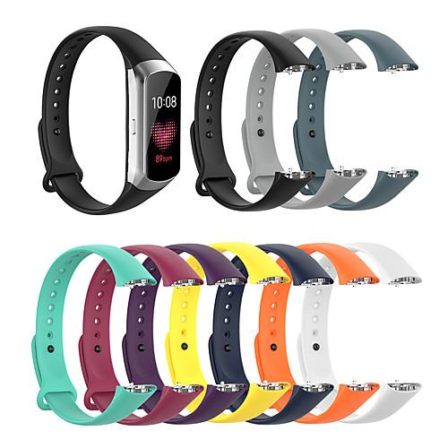 Watch Band for galaxy fit SM-R370 Samsung Galaxy Modern Buckle Silicone Wrist Strap