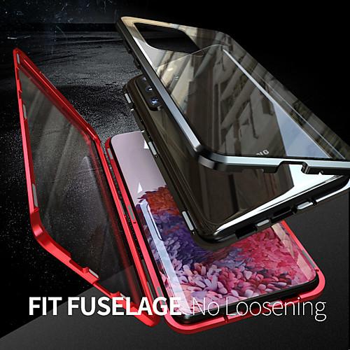 miniinthebox / Hülle Für Samsung Galaxy S20 Plus / S20 Ultra / S20 Flipbare Hülle / Magnetisch Ganzkörper-Gehäuse Solide Gehärtetes Glas / Metal