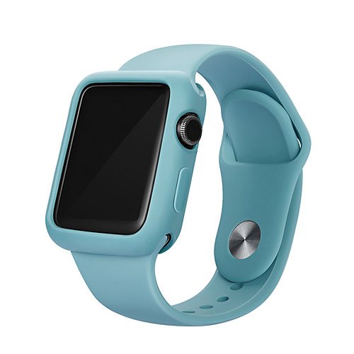 Bumper For Apple Watch Series 5/4/3/2/1 Case Candy Color TPU Cover Slim Fit Protector Ultra-thin For iwatch 40mm/44mm/38mm/42mm