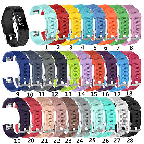 For Fitbit Charge 2 Replacement Silicone Watch Strap Band