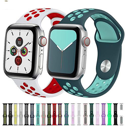 Watch Band for Apple Watch Series 5 43 2 1 Apple Sport Band Silicone Wrist Strap