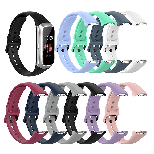 1 pcs Watch Band for Samsung Galaxy Sport Band Silicone Replacement Wrist Strap for Samsung Galaxy Fit SM-R370