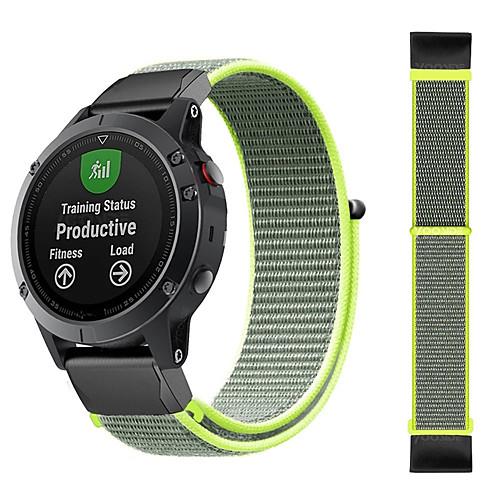 1 PCS Watch Band for Garmin Sport Band Nylon Wrist Strap for Approach S60 Fenix 5x Fenix 5 Fenix 5 Plus Fenix 5x Plus
