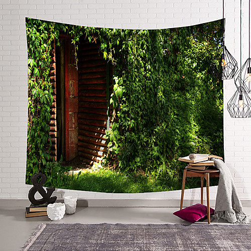 Landscape Wall Tapestry Art Decor Blanket Curtain Hanging Home Bedroom Living Room Decoration Polyester