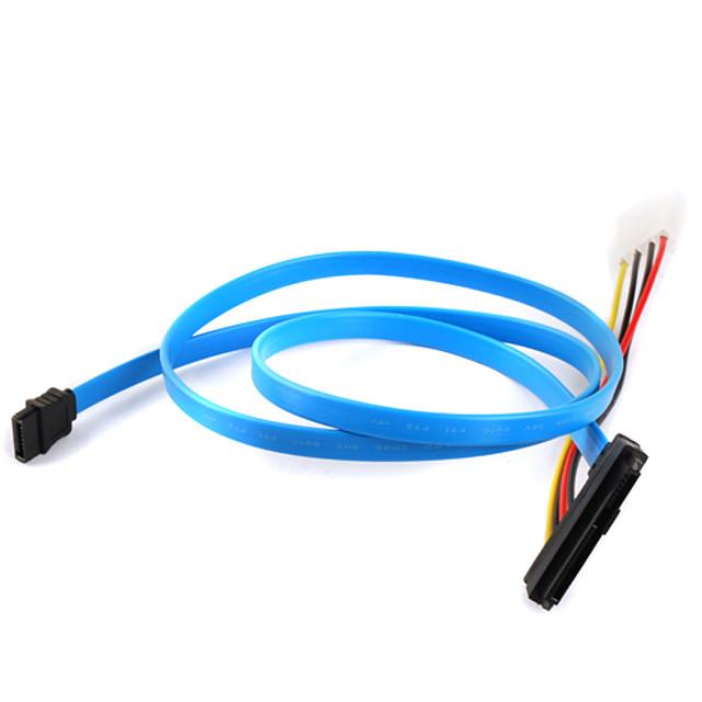 hard disk sas cablu 29P la 1 * SATA cablu 7P 70cm
