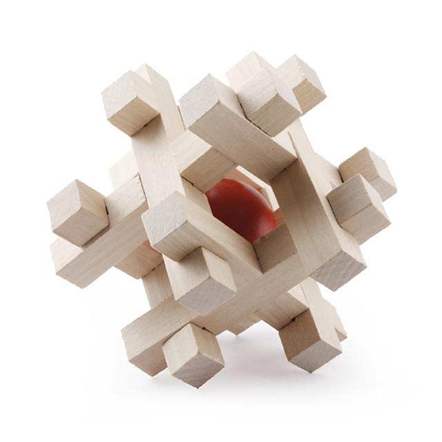 Mingi Puzzle Lemn Jocuri IQ nivel profesional Viteză De lemn Clasic & Fără Vârstă Băieți Fete Jucarii Cadou / 14 Ani & Sus