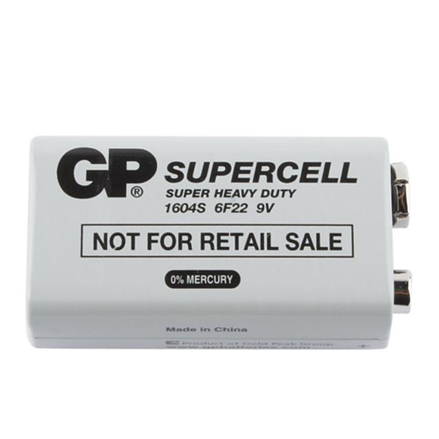 GP 9V 9V Battery 1 pcs