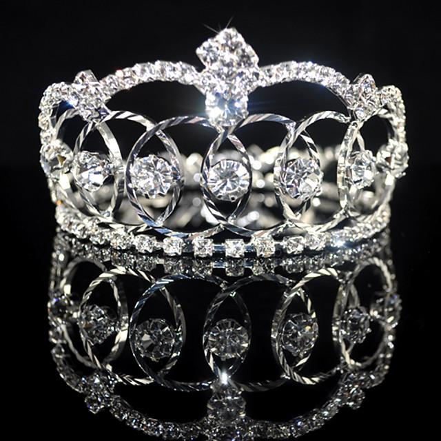 pietre frumos aliaj de nunta mireasa tiara / caciula