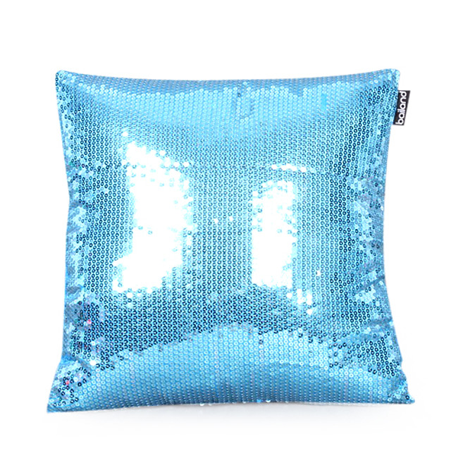 1 pcs Beads Pillow Cover, Solid Colored Casual Modern Contemporary
