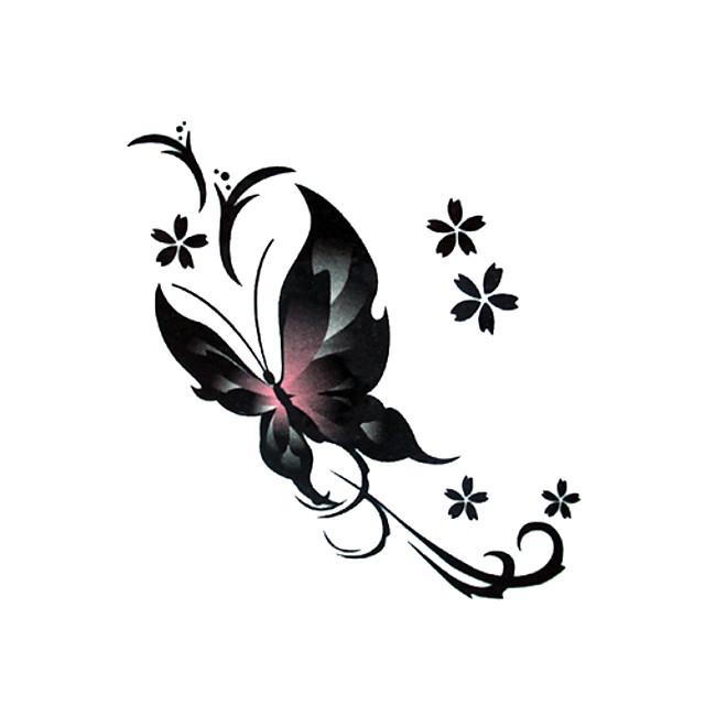 #(5) Tatuaje temporare Dispensabil / Calitate înaltă, fără formaldehidă Corp / brachium / gleznă Aplicația de transfer de apă Acțibilde de Tatuaj / Tatuaj autocolant