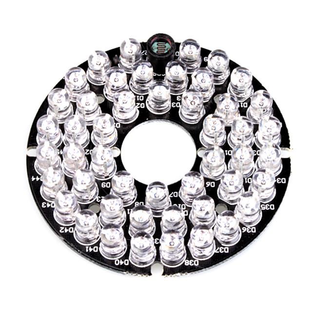 Lampă Infraroșie De Iluminat 48-LED Illuminator Board Plate for 3.6mm Lens Security Camera pentru Securitate sisteme 6*6*1.5cm 0.015kg