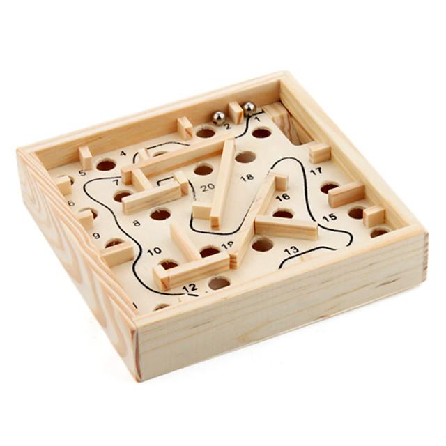 Set de cuburi de viteză Magic Cube IQ Cube De lemn Străin Labirintul din lemn Cuburi Magice Labirint puzzle cub nivel profesional Viteză Clasic & Fără Vârstă Jucarii Băieți Fete Cadou / 14 Ani & Sus