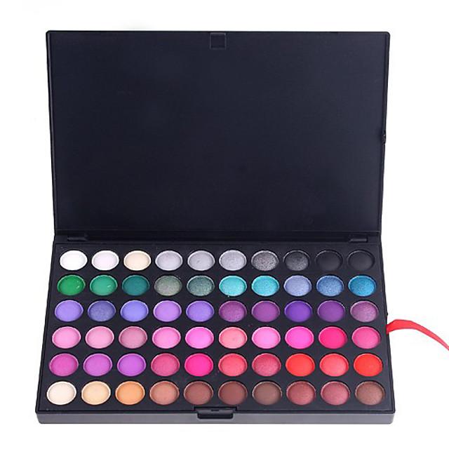 120 colores Sombras de Ojos Polvos Mate Brillo Ojo Maquillaje de Fiesta Cosmético Regalo