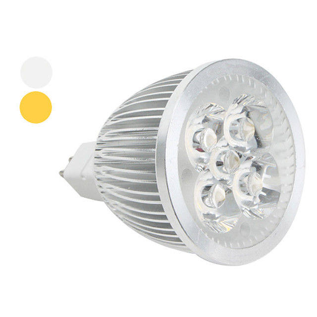 1 buc 5 W Spoturi LED 450 lm 5 LED-uri de margele LED Putere Mare Alb Cald Alb Rece 12 V