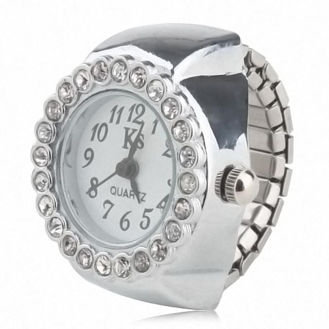 Pentru femei Ceas inel Diamond Watch Quartz femei Ceas Casual Analog / Japoneză / Japoneză