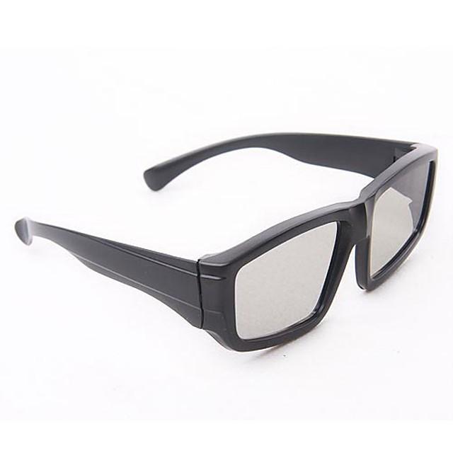 vierkante mode 3D-bril