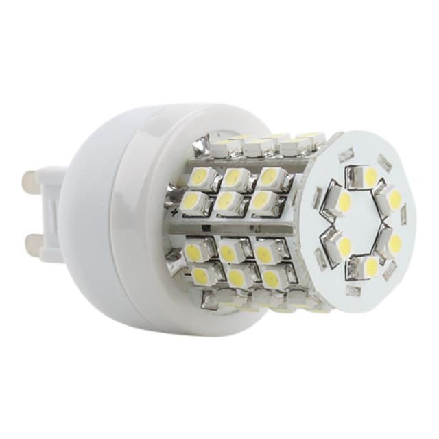 1 buc Becuri LED Corn 250LM G9 T 48 LED-uri de margele SMD 2835 Alb Cald Alb Rece Alb Natural 220-240 V