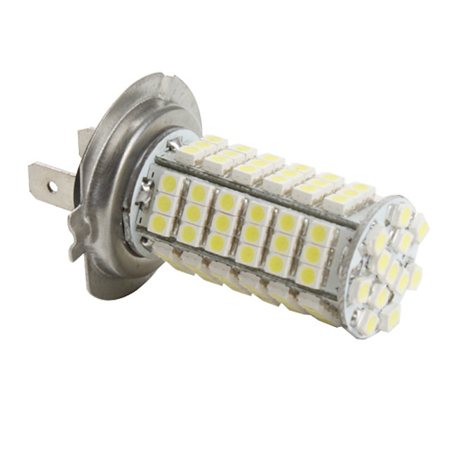 SO.K H7 Light Bulbs SMD 3528 540-580Lm สำหรับ