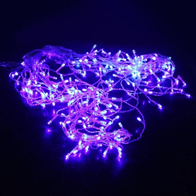 5m Fâșii de Iluminat 200 LED-uri Dip Led Albastru Petrecere / Decorativ / Nuntă 220-240 V 1 buc / IP44