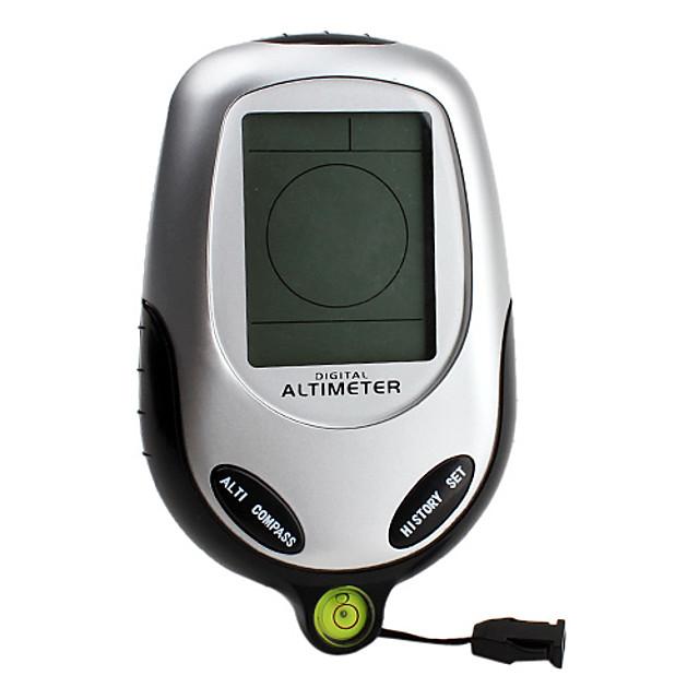 6-in-1 Digital altimetru (barometru, busola, termometru, vreme, timp)