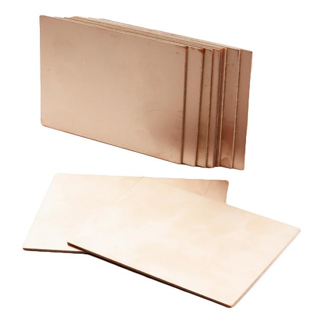 10 Pieces FR4 Copper Clad Circuit Board Single PCB 70 x 100 x 1.4mm DIY