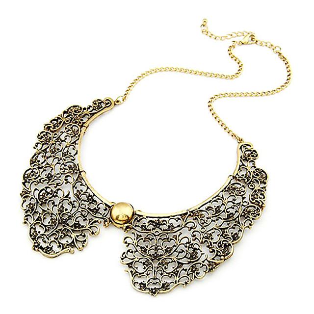 Pentru femei Guler / Vintage Colier - Modă Auriu Coliere Bijuterii Pentru Zilnic