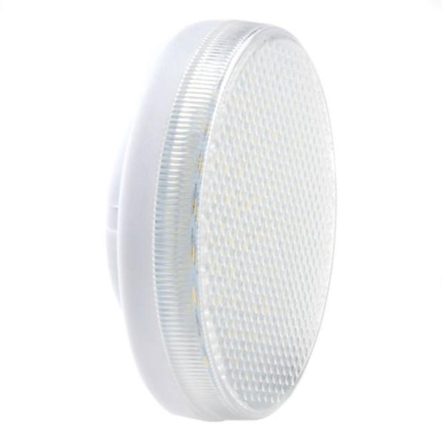 1pc gx53 3,5 w 300-350 lm led lumina reflectoarelor 60 led margele smd 2835 decorative cald alb / rece rece / alb natural 220-240 v