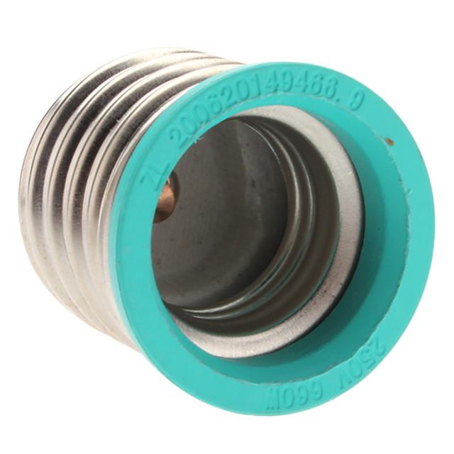 E40 to E27 E27 85-265 V Plastic Bec pentru becuri
