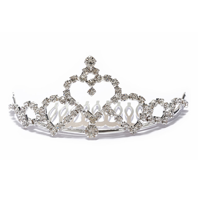 aliaj superb cu pietre cehă nunta tiara de mireasă