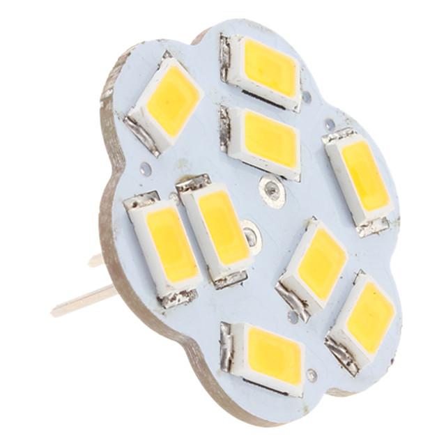 2.5 W Becuri LED Bi-pin 3000 lm G4 9 LED-uri de margele SMD 5630 Alb Cald 12 V