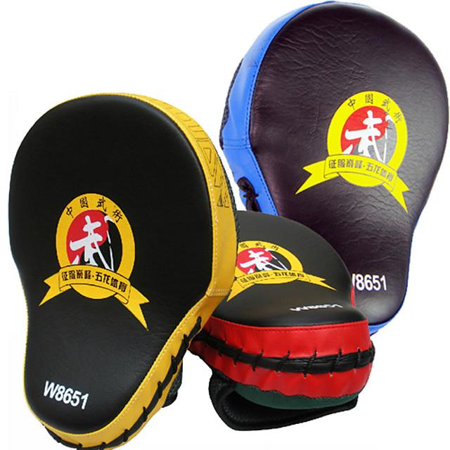 Box și arte marțiale Pad Pad de Box Pentru Taekwondo Box Karate Muay Thai Multifuncțional Respirabil Forța de Formare PVC PU 1 pcs Galben Rosu Albastru