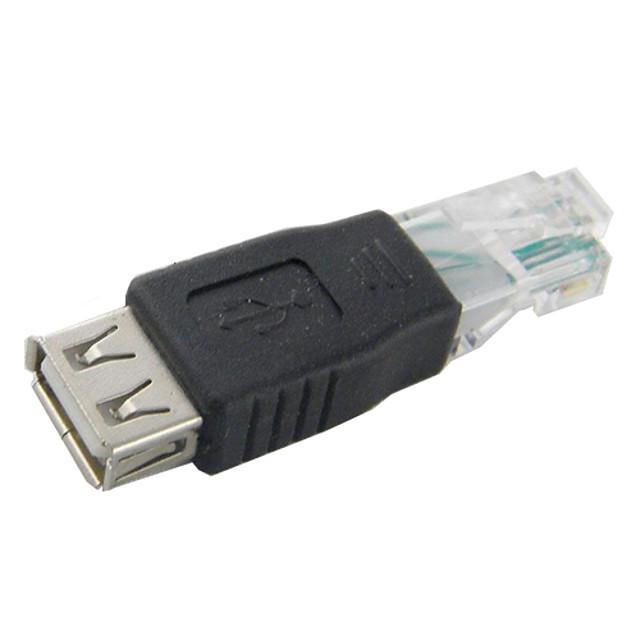 usb female to rj45 adaptor de sex masculin pentru rețea / calculator de înaltă calitate, durabil