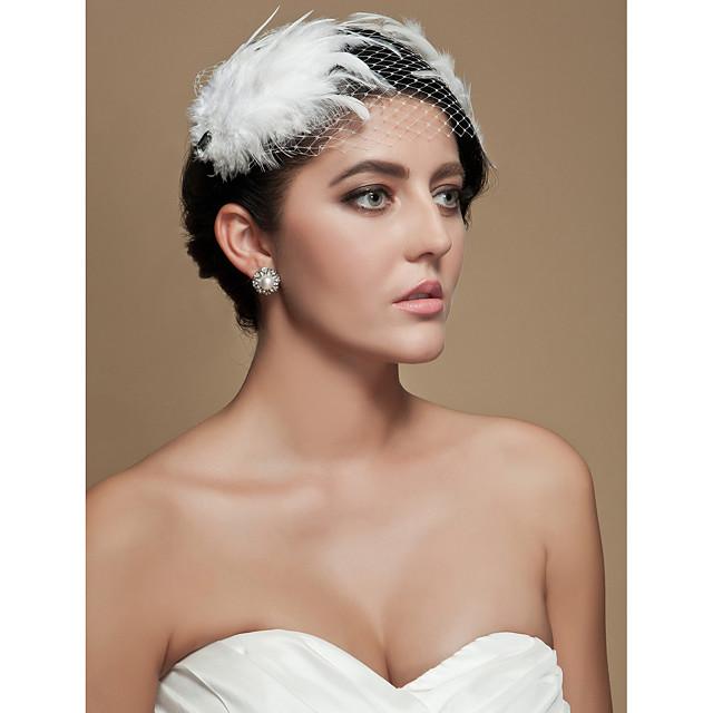 Tul / Cristal / Material Textil Diademe / Palarioare cu 1 Nuntă / Ocazie specială / Party / Seara Diadema