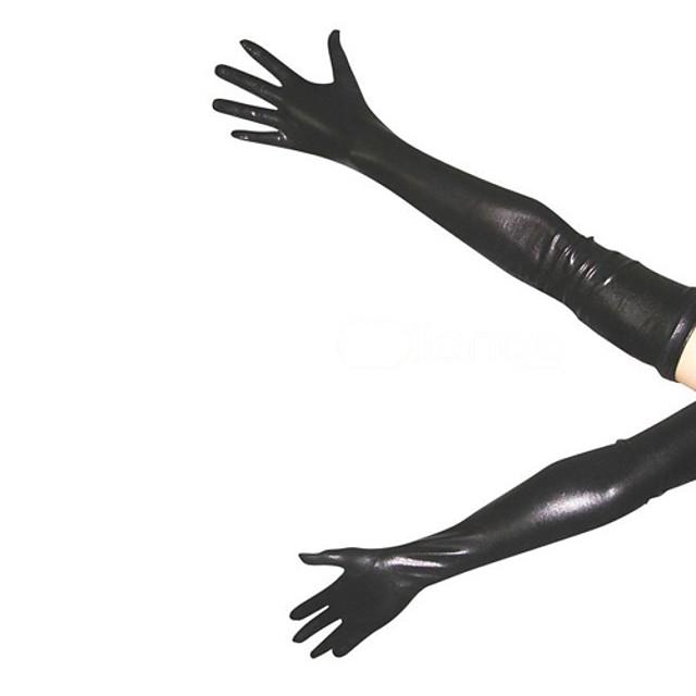 Mănuși Costum de piele Ninja Adulți Spandex Latex Costume Cosplay Sex Bărbați Pentru femei Mată Crăciun Halloween / Înaltă Elasticitate