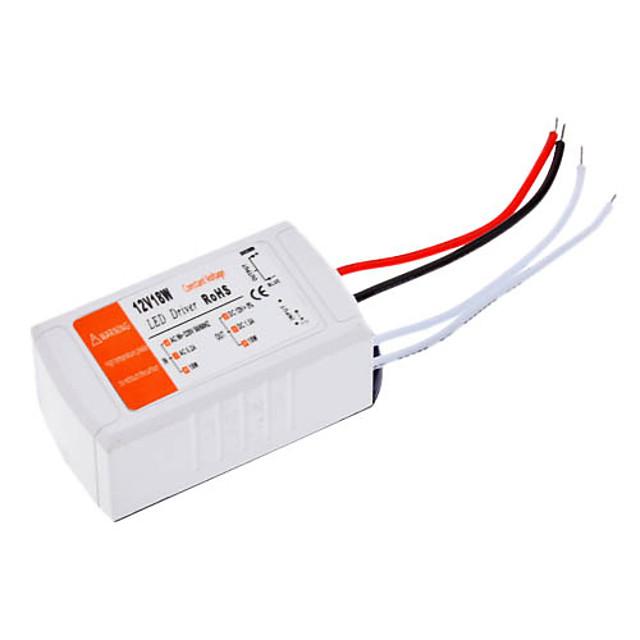 110-240 V Plastic Convertor de Voltaj 18 W