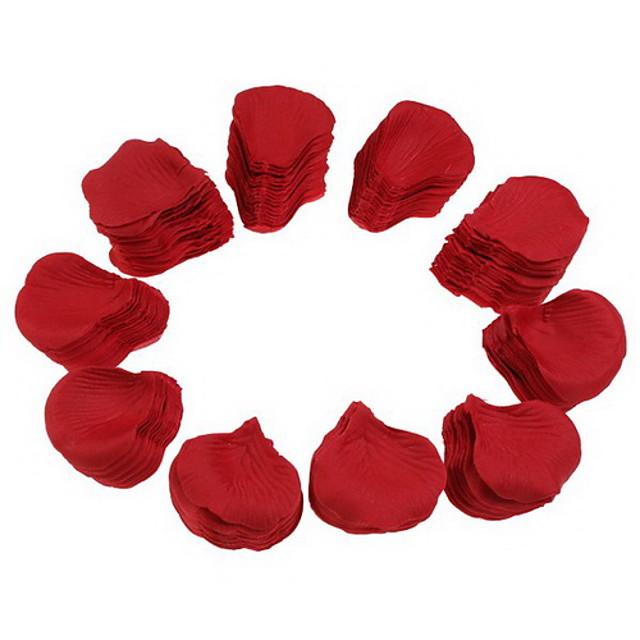 nunta petrecere de mătase roșie petale (1000-Pack) a crescut