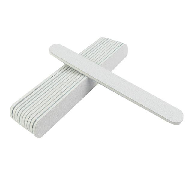 10pcs Smirghel Instrumente de manichiură pentru unghii Stil Minimalist Simplu Clasic Zilnic Bloc de Unghii pentru Unghie Unghie deget picior
