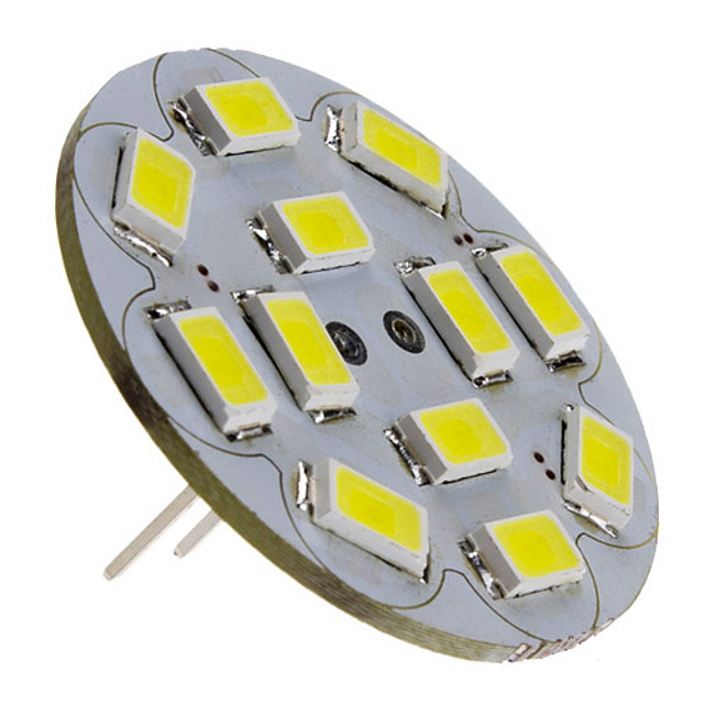 3 W LED Spot Lampen 250 lm G4 12 LED-Perlen SMD 5730 Natürliches Weiß 12 V