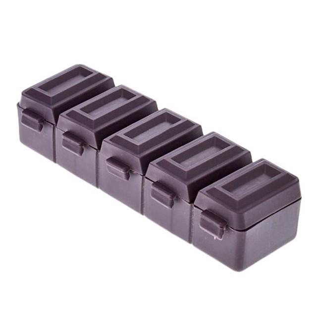 Style de chocolat 5 Boîte à pilules