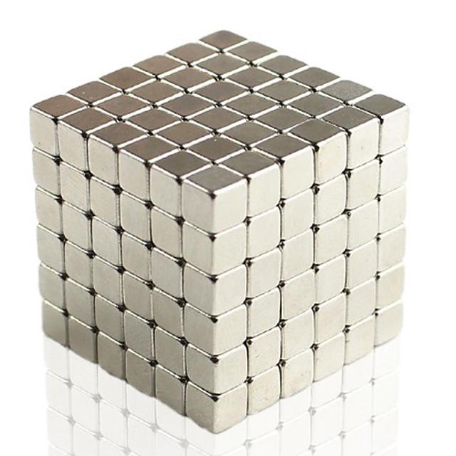 216 pcs 5mm Jouets Aimantés Blocs de Construction Aimants de terres rares super puissants Aimant Néodyme Cube casse-tête Aimant Cube Aimant carré Aimant Magnétique Adulte Garçon Fille Jouet Cadeau