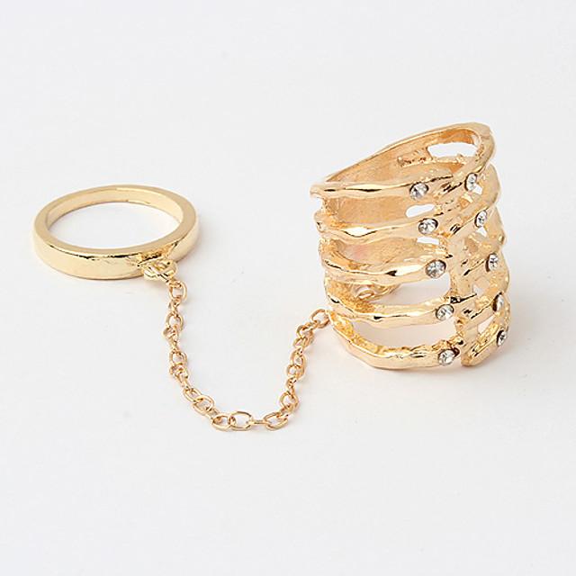 Pentru femei Auriu Aliaj Neobijnuit Design Unic Modă Zilnic Bijuterii