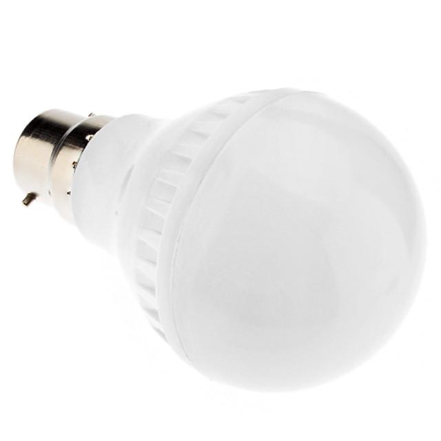 1 buc 4.5 W Bulb LED Glob 250-300 lm B22 E26 / E27 A60(A19) 35 LED-uri de margele SMD 5050 Alb Cald Alb Rece Alb Natural 220-240 V