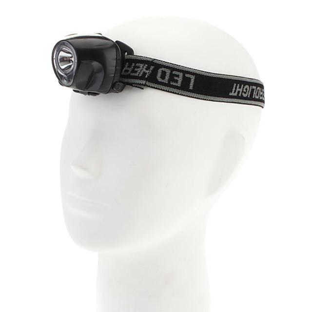 Torce frontali Compatto 50 lm LED emettitori 1 Modalità di illuminazione Compatto Campeggio / Escursionismo / Speleologia Uso quotidiano Ciclismo