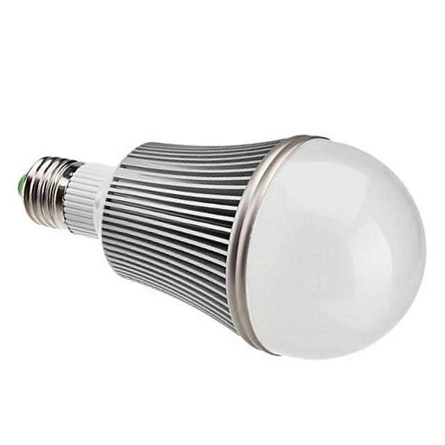 Bulb LED Glob 1080 lm E26 / E27 A60(A19) 12 LED-uri de margele LED Putere Mare Intensitate Luminoasă Reglabilă Alb Cald 220-240 V