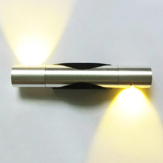 Modern contemporan Lemn / bambus Lumina de perete 90-240V 2 W / LED Integrat