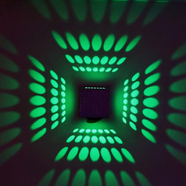 BriLight Modern contemporan Metal Lumina de perete 90-240V 3 W / LED Integrat