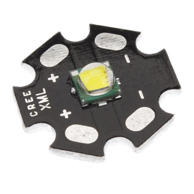 Becuri LED LED emițători 5 Mod Zbor Camping / Cățărare / Speologie Negru