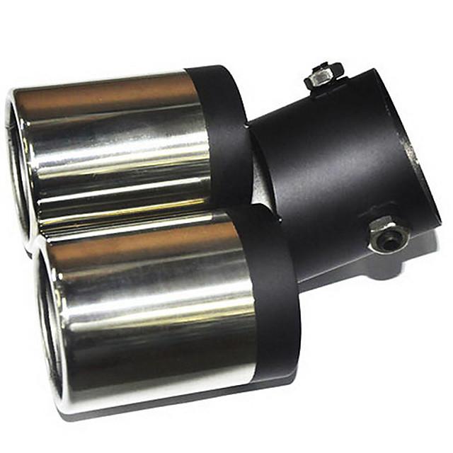 Universal inoxidabil tobei de eșapament din oțel pentru vehicule Racord evacuare (diametru 63mm-interior) LMC-M-041