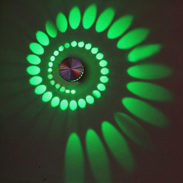 Modern contemporan Metal Lumina de perete 90-240V 3 W / LED Integrat